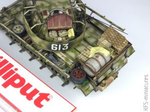1/35 Pz.Kpfw.III Ausf.M mit schürzen – Takom/BLITZ – Budowa cz.2
