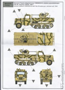 1/72 V3000S/SSM Maultier German Halftrack with Flak 38 – IBG Models