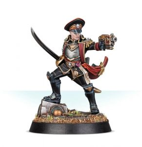 28mm Commissar Severina Raine - Astra Militarum - Games Workshop
