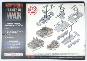 1/100 Recon Patrol - Security Section - Battlefront Miniatures