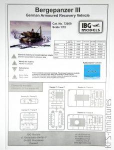 1:72 Bergepanzer III German Armored Recovery Vehicle - IBG