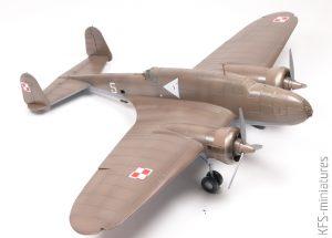 1/72 PZL.37B II Łoś - IBG Models - Budowa