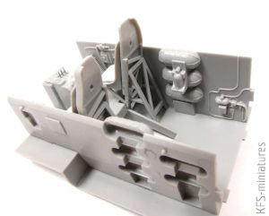 1/48 B-17G Early Production HK Models - Budowa cz.1