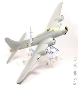 1/48 B-17G Early Production - HK Models – Budowa cz.2