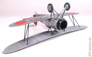 1/48 Nakajima A2N3 – A.B.&K Models - Budowa