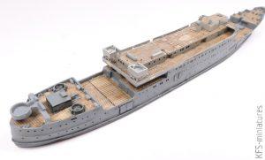 1/700 HMS Royal Scotsman - AJM Models - Budowa