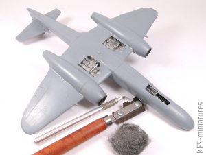 1/48 Gloster Meteor NF.14 - Sword - Budowa