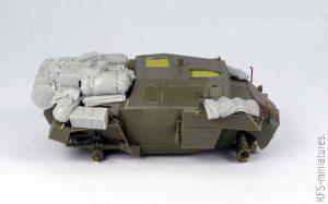 1/35 Humber Scout Car Mk.I  - Bronco - Budowa cz.2