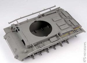 1/35 Pz.Kpfw.III Ausf.M mit schürzen – Takom/BLITZ - Budowa cz.1