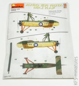 1/35 Avro Rota I - MiniArt
