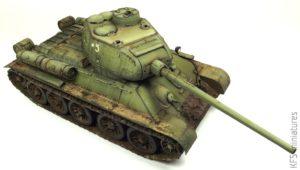1/35 T-34-85 with Soviet Tank Riders - malowanie