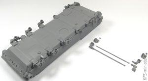 1/35 BMR-1 with KMT-5M - Budowa