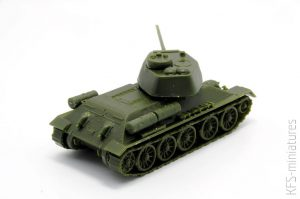 1/72 T-34/85 SOVIET BATTLE TANK – PEGASUS HOBBIES