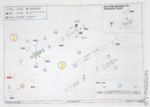 1/72 MiG-21MF - zestawy uzbrojenia - Eduard