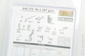 1/48 Pe-2 UBT guns for Zvezda and Eduard