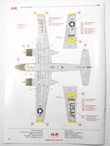 1/48 B-26B-50 Invader - Korean War American Bomber - ICM