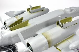 1/48 B-26B-50 Invader - ICM - Budowa cz.2