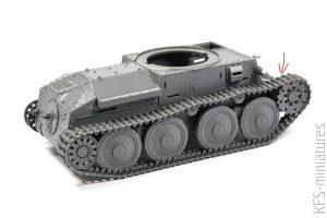 1/35 Pz.Kpfw.38(t) Ausf. E/F - Tamiya - budowa cz. 1
