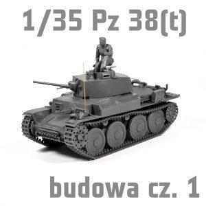 1/35 Pz.Kpfw.38(t) Ausf. E/F - Tamiya