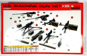 1/35 US MACHINE GUN SET - MiniArt