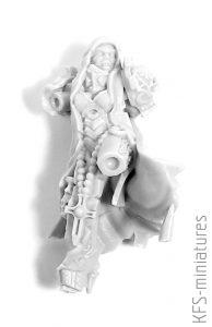 28mm Emperor Sister Repentium Mistress - Grimm Skull