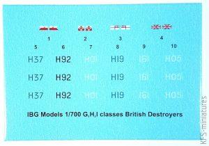 1/700 ORP Garland 1944 G-class destroyer - IBG Models