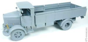 1/35 3Ro Italian Truck – Troop Carrier – IBG Models - Budowa
