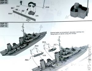 1/700 HMS Ithuriel 1942 I-class british destroyer - IBG Models