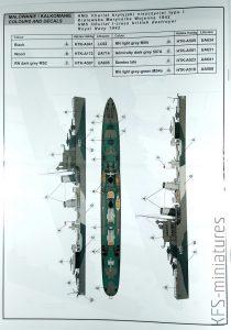 1/700 HMS Ithuriel 1942 I-class british destroyer - IBG Models