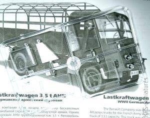 1/35 Lastkraftwagen 3,5 t AHN with German Drivers - ICM