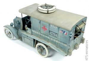 1/35 Model T 1917 Ambulance (early) – Budowa