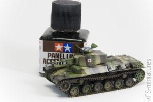 1/72 Type 1 Chi-he Japanese medium tank - malowanie z Hataka Orange cz. 2