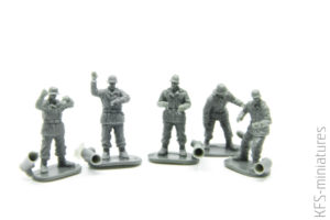 1/72 German Nebelwerfer 42 and Raketenwerfer 43 with Crew - Caesar