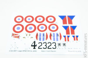 1/72 Legie - SPAD XIIIs flown by Czechoslovak pilots - Eduard