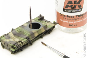 Modelling Oils Sets - Abteilung 502 - weathering farbami olejnymi cz. 1