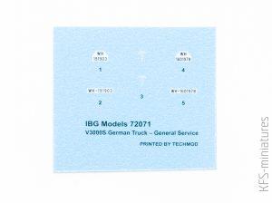 1/72 V3000S German Truck General Service - IBG Models