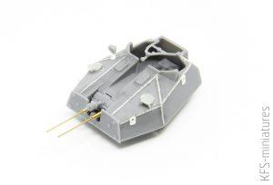 1/72 Crusader Mk. III Anti Aircraft - Budowa