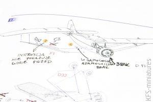1/72 Bellanca J-300 - Budowa