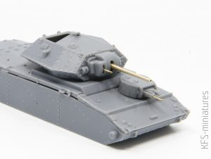 1/72 British QF 2-pdr (40mm) & QF 6-pdr (57mm) - Master