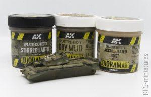 Pasty Diorama Series AK Interactive - rozpoznanie bojem cz. 2