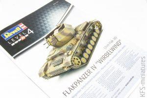 "1/72 Flakpanzer IV ""Wirbelwind"" - Revell"