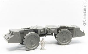 1/72 Krupp Raumer + Vs.Kfz. 617 - Takom - Budowa