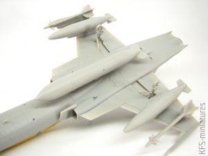 1/48 F-20B/N TIGERSHARK - Budowa