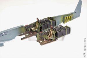 1/48 P-51D-5 Mustang- Eduard - Budowa