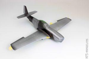 1/48 P-51D-5 Mustang - Eduard - Budowa cz.2