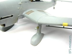 1/48 Ju 87D-3 Stuka in RAF Service - Budowa