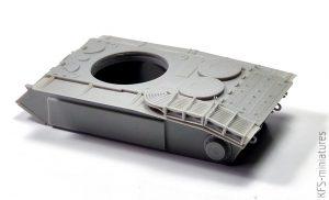 1/72 ARL-44 The Last French Heavy Tank - Planet Models - Budowa