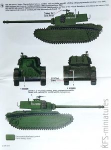1/72 ARL-44 The Last French Heavy Tank - Planet Models