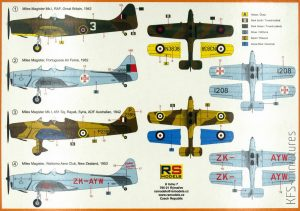 1/72 Miles Magister – RS Models