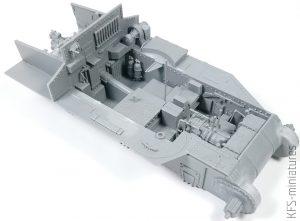 1/35 Grant Mk.I Interior Kit - MiniArt - Budowa Cz.1